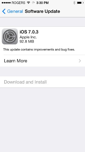 iOS 7.03: Apple throws the kitchen sink into a iOS update — including iCloud Keychain