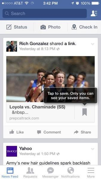 Facebook tests a new 'Save' feature for your favorite posts (gallery)