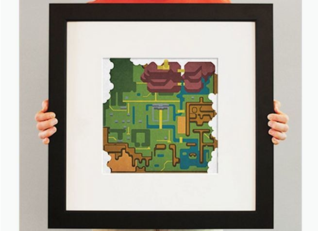 13 awesome maps from classic video games (gallery)