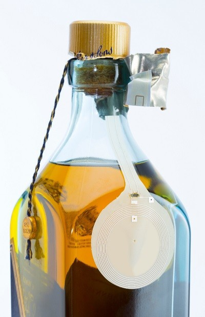 Thinfilm's smart bottle tells you if your Johnnie Walker scotch has been opened before