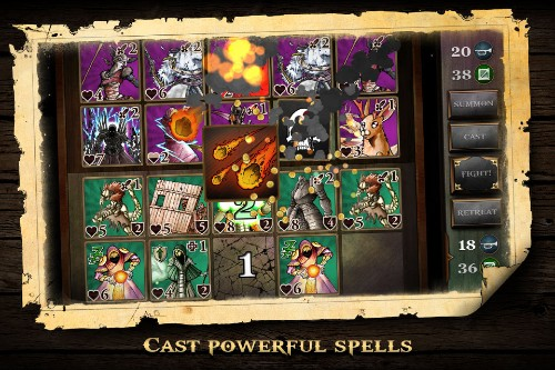 How one collectible card game pairs tactical combat with an actual story