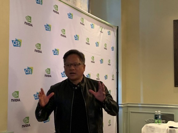 Jensen Huang interview — 'the foundations of gaming are just fine, just fantastic'