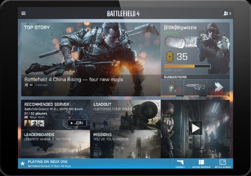 DICE shows off the expanded Battlelog features for Battlefield 4