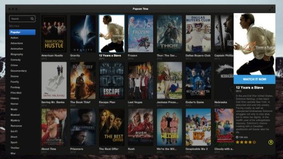 Movie streaming app Popcorn Time is coming back from the dead — thanks to a torrent site