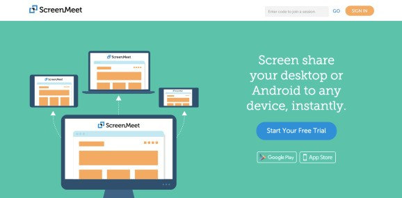ScreenMeet's new app lets you share your screen in mobile meetings