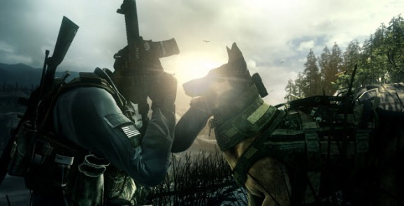 Riley the dog wins big as Call of Duty: Ghosts hits No. 1 on next-generation consoles