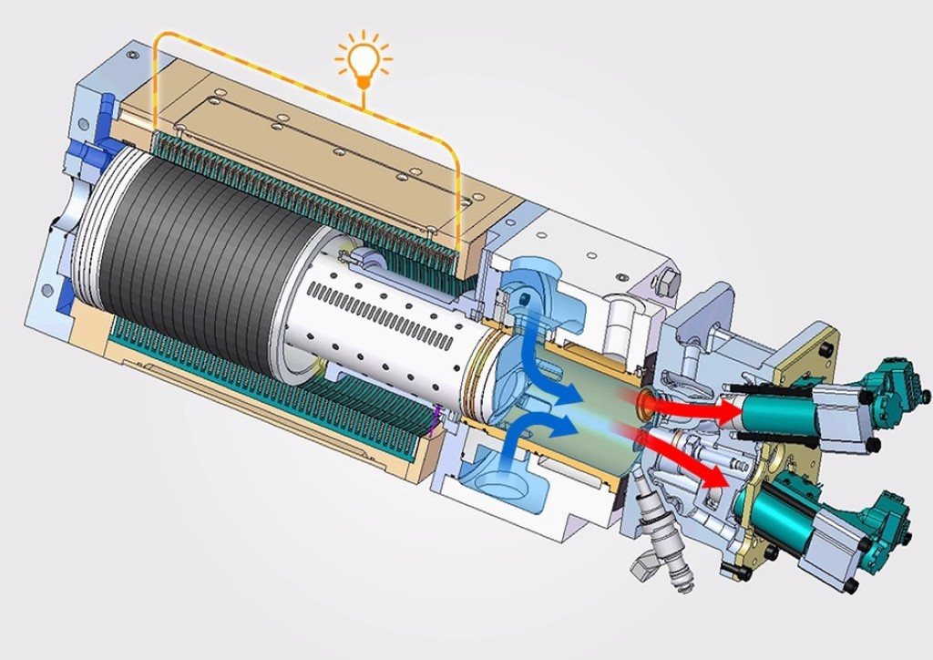 Toyota designs a combustion engine that generates electricity