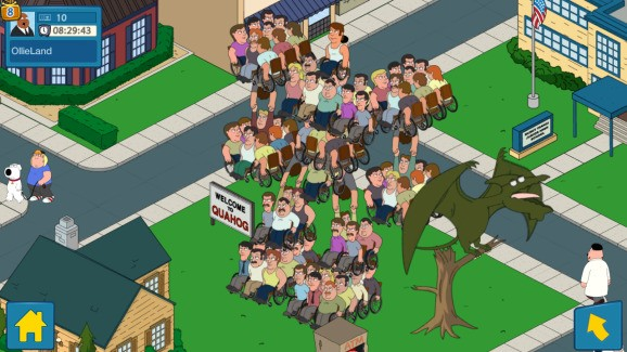What the deuce? Fox's copyright club quashes videos and streams of Family Guy mobile game
