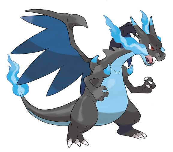 Surprise! Charizard has two Mega Evolutions in Pokémon X and Y