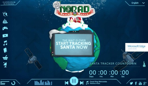 Annual battle of Santa Trackers launches as Google takes on Microsoft-NORAD