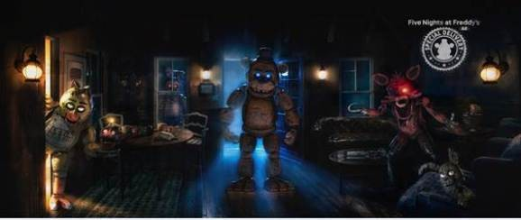 Five Nights at Freddy's will bring its scares to AR this fall
