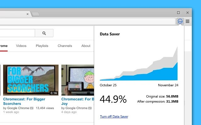 Google quietly launches Data Saver extension for Chrome