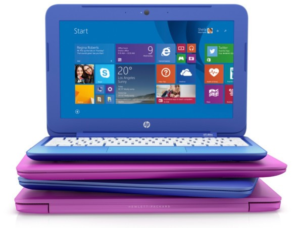 Hewlett-Packard reveals HP Stream series of skinny laptops and tablets