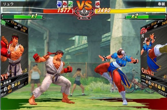 Capcom to release Street Fighter card game for mobile in Japan soon