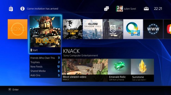 PlayStation 4 installs every game to its hard drive (even disc-based titles)
