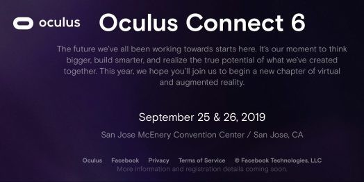 Oculus Connect 6 promises new chapter for VR/AR on September 25-26