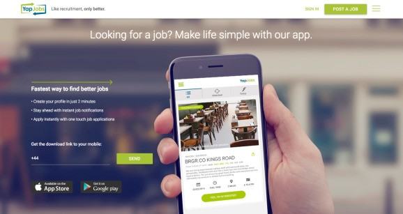 YapJobs raises $1.4 million to match job seekers with hospitality roles