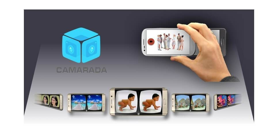 Camarada app lets you take virtual reality videos with two smartphones