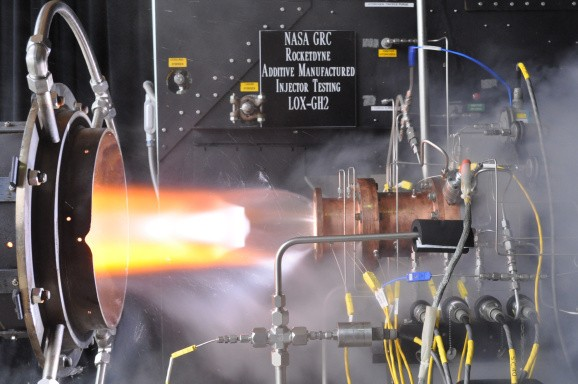 NASA manufactures a 3D printed rocket part — and, no, it doesn't melt