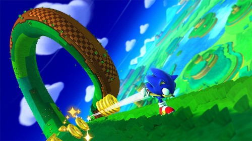 Sonic: Lost World features competitive multiplayer and parkour moves