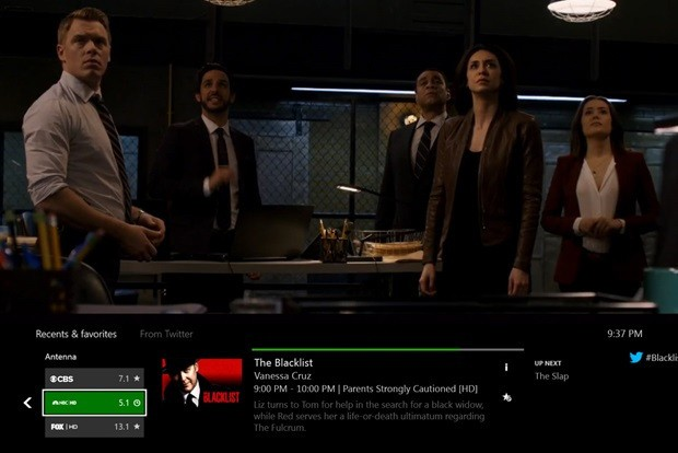 Microsoft brings over-the-air live TV to Xbox One in the U.S. and Canada
