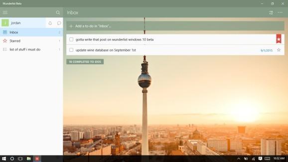 Microsoft rolls out Wunderlist beta for Windows 10