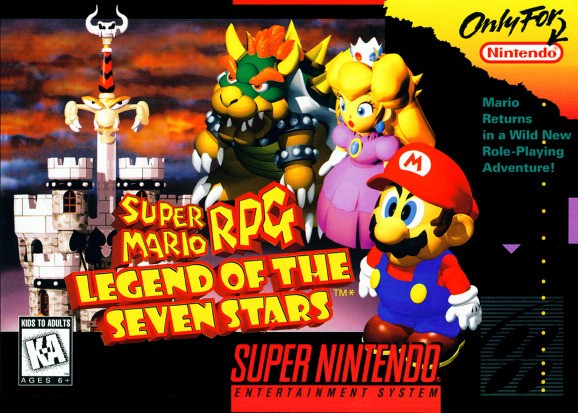 Super Mario RPG was originally a lot more like Final Fantasy