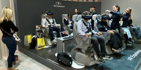CES 2020 proved VR and AR are thriving — and moving into automobiles