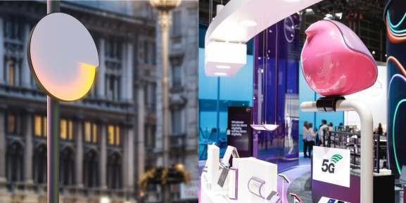 Deutsche Telekom, Covestro, and UID create artistic 5G mmWave antennas