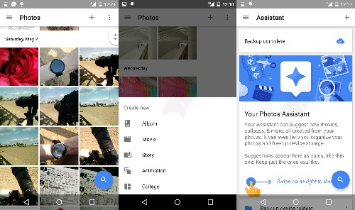 Screenshots of Google's new Photos app for Android leak