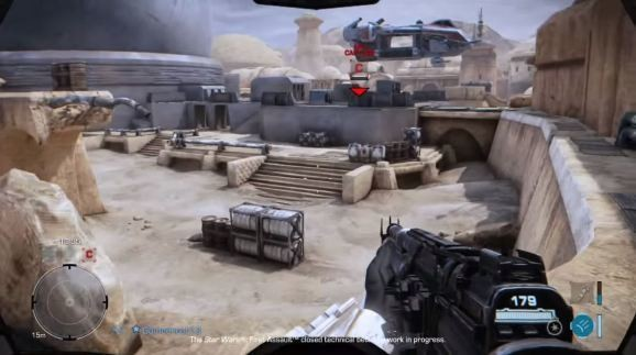 Watch extended footage of canceled Star Wars: First Assault, the would-be precursor to Battlefront 3