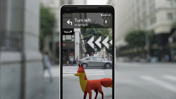Google Maps AR navigation rolls out to Pixel users