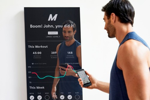 Mirror raises $25 million and launches $1,495 connected mirror for virtual fitness classes