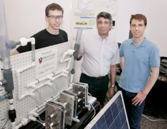 Princeton researchers use sunlight to convert CO2 more efficiently than plants do