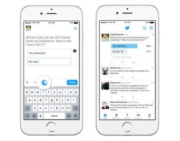 Twitter's new polling feature is now rolling out to users on iOS, Android, and Web