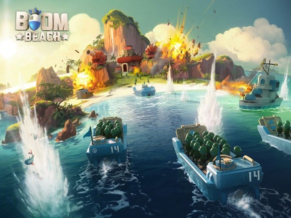 With Boom Beach, Supercell guns for a third smash hit — and it's already at No. 2