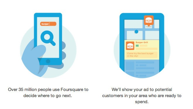 Adios, Chipotle: Foursquare opens up its self-serve ad platform to thousands of small businesses