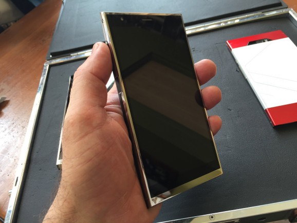 The first all-Liquid Metal phone, the Turing, opens for preorders July 31