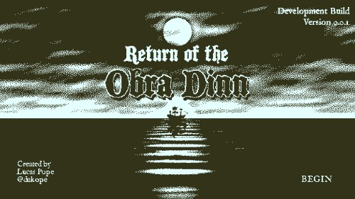 Papers Please developer releases demo of new mystery game: Return of the Obra Dinn