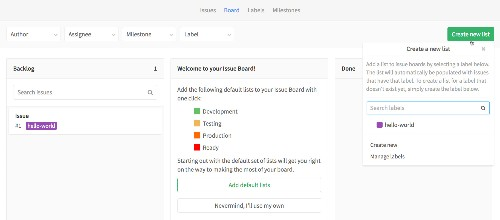 GitLab launches Issue Boards, an open-source task management tool that resembles Trello