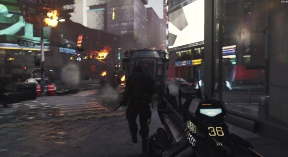 Activision shows off animation and art direction for Call of Duty: Advanced Warfare