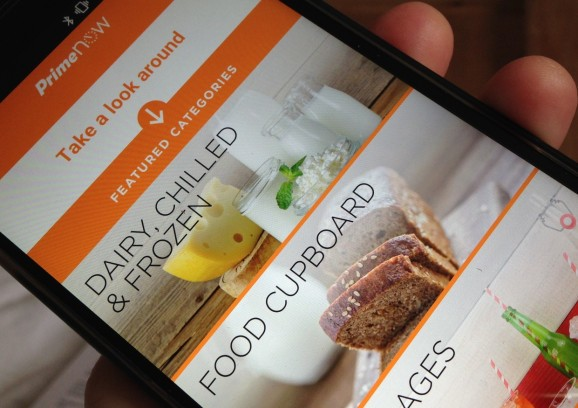 Amazon's Prime Now restaurant delivery service lands in San Francisco, its 8th U.S. city