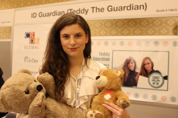 Teddy the Guardian tracks the vital signs of kids in hospitals