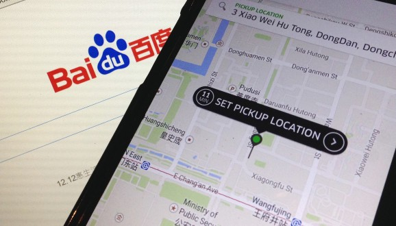 Uber reportedly set to raise up to $600M from Baidu as it looks to make greater inroads into China