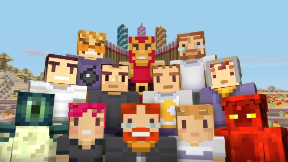 Minecraft celebrates three years on console with free skins for Xbox One and Xbox 360