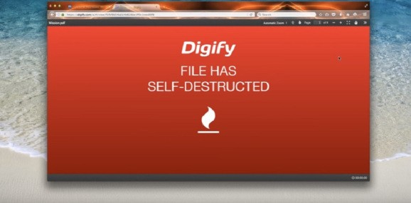 Digify can set Gmail attachments to self-destruct, Mission Impossible style