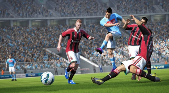Disappointing U.K. start for EA's FIFA 14 causes concern