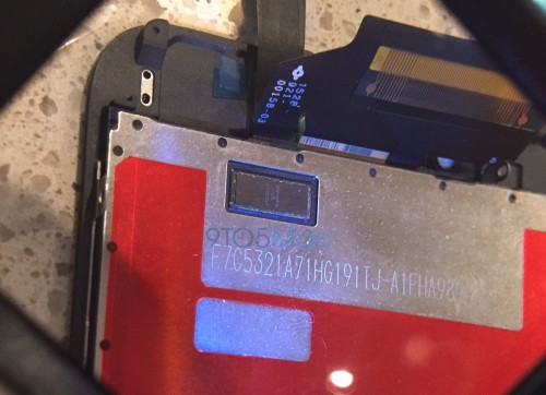 New photos reportedly show Apple iPhone 6S Force Touch screen and larger front camera