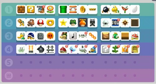 Super Mario Maker: How to unlock all items on day one