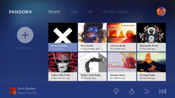 Pandora launches its first native game console app — and it's for Xbox One